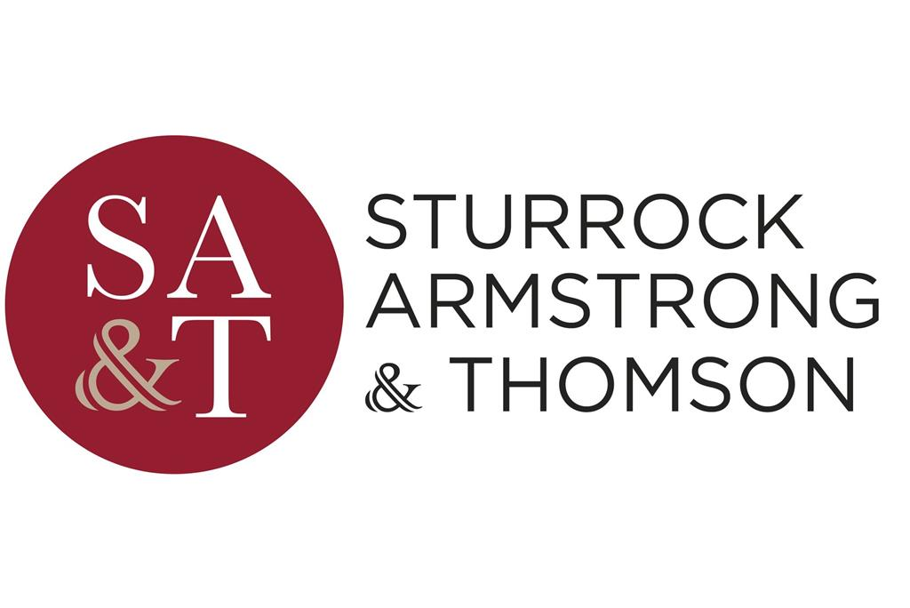 Sturrock, Armstrong & Thomson - Property Department