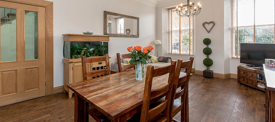 Portobello townhouse dining room